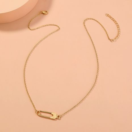 fashion simple new  wild pin   necklace NHAN277544's discount tags