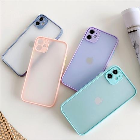 Étui de téléphone de caméra de protection de trou de précision avec cadre mat adapté à Apple 11Pro xsmax XR SE2 NHFI285239's discount tags