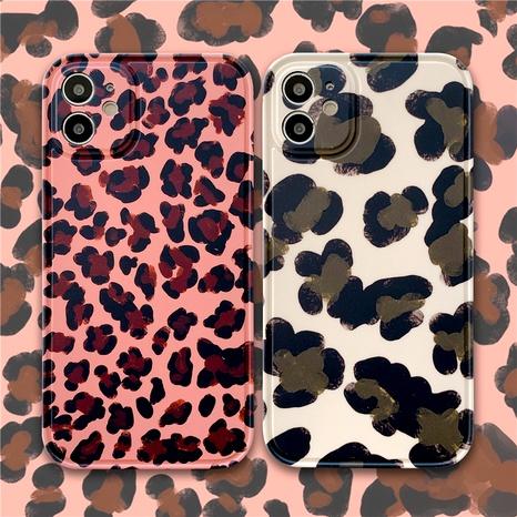 étui de téléphone portable à imprimé léopard rétro pour Apple 12mini 11Pro 8 7plus se2 XR X NHFI285243's discount tags