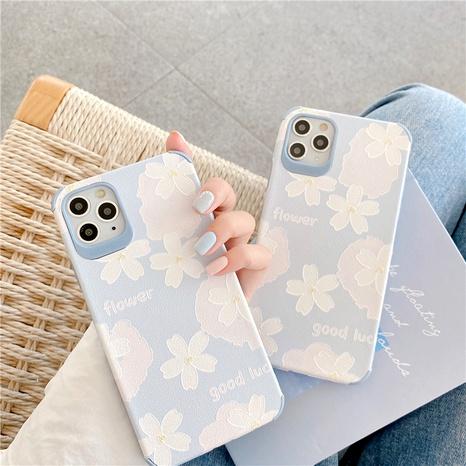coque de téléphone portable en silicone fleur d'été pour iPhone11pro xsmax 8plus se2 NHFI285246's discount tags