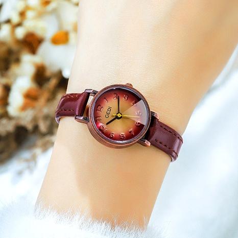 reloj de cuarzo impermeable casual retro de moda NHSR285307's discount tags