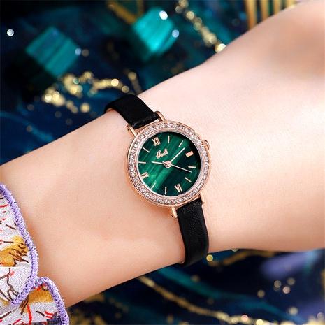 reloj verde pequeño redondo de moda NHSR285312's discount tags