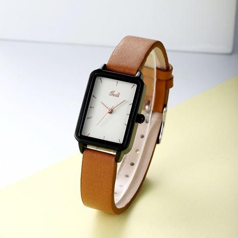 cinturón de moda retro cuadrado reloj impermeable NHSR285315's discount tags