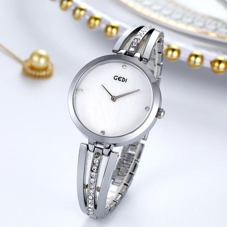 simple fashion diamond waterproof quartz watch NHSR285318's discount tags