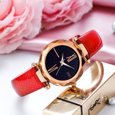 reloj de cuarzo impermeable con cinturón casual de moda NHSR285322's discount tags