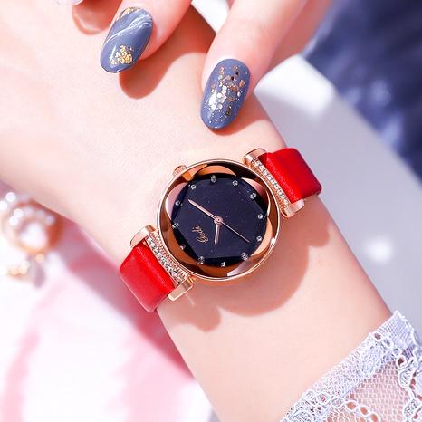 reloj de cuarzo de moda con cinturón de diamantes NHSR285326's discount tags