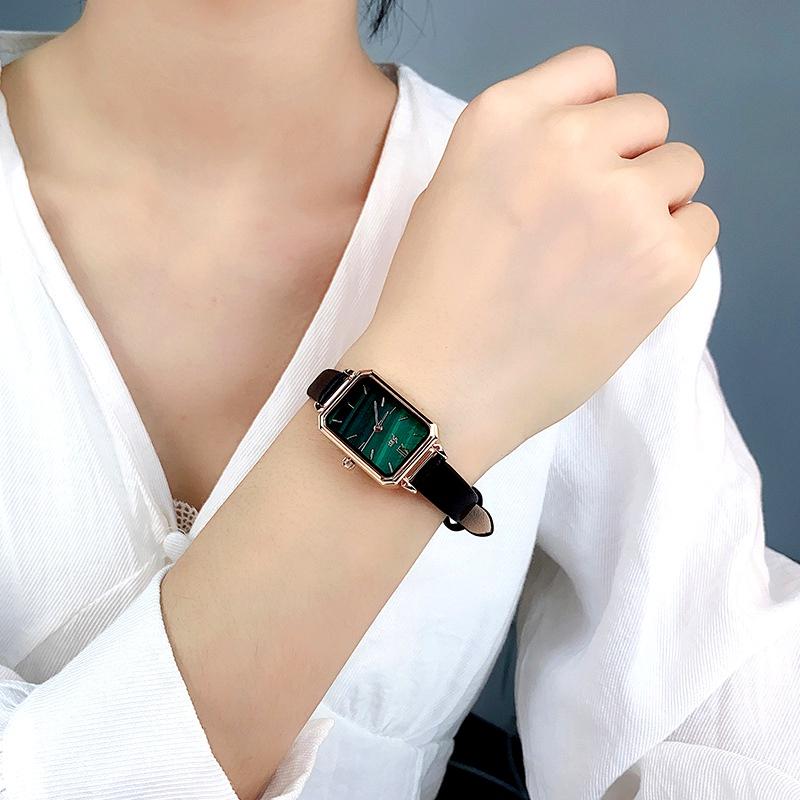 fashion green waterproof belt watch  NHSR285327