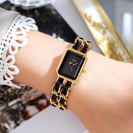 montre carrée à bracelet de mode NHSR285329's discount tags