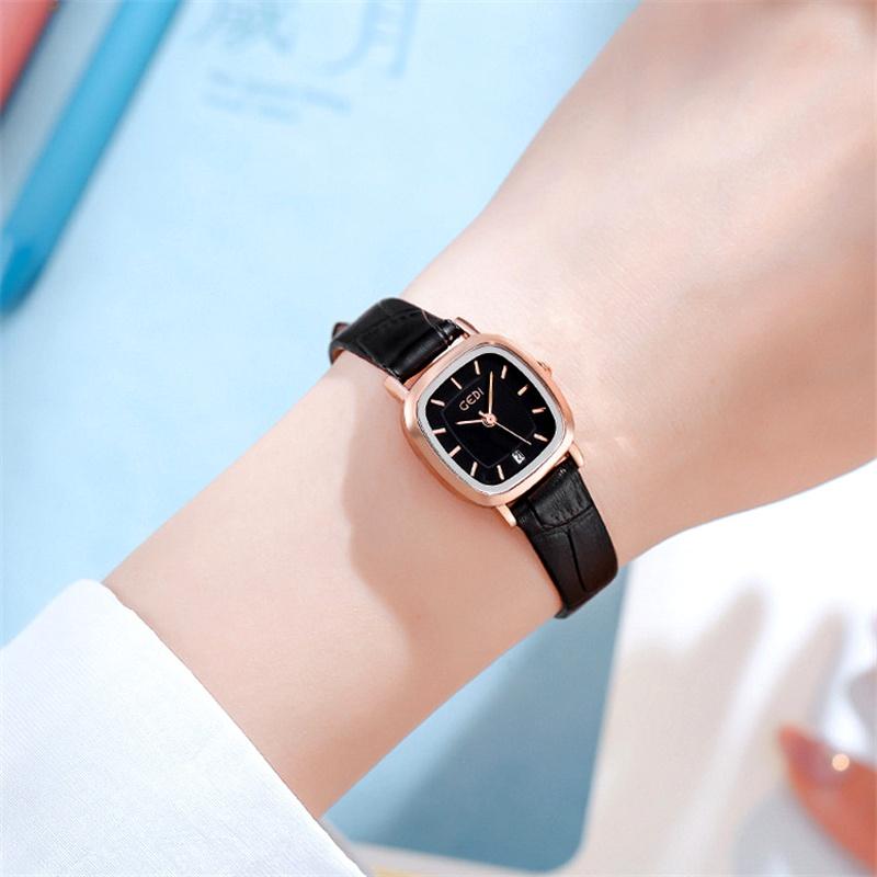 belt simple square waterproof watch NHSR285344