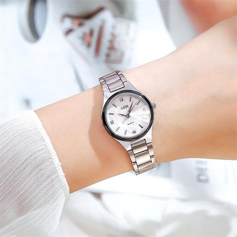 fashion silver steel band quartz watch NHSR285350's discount tags