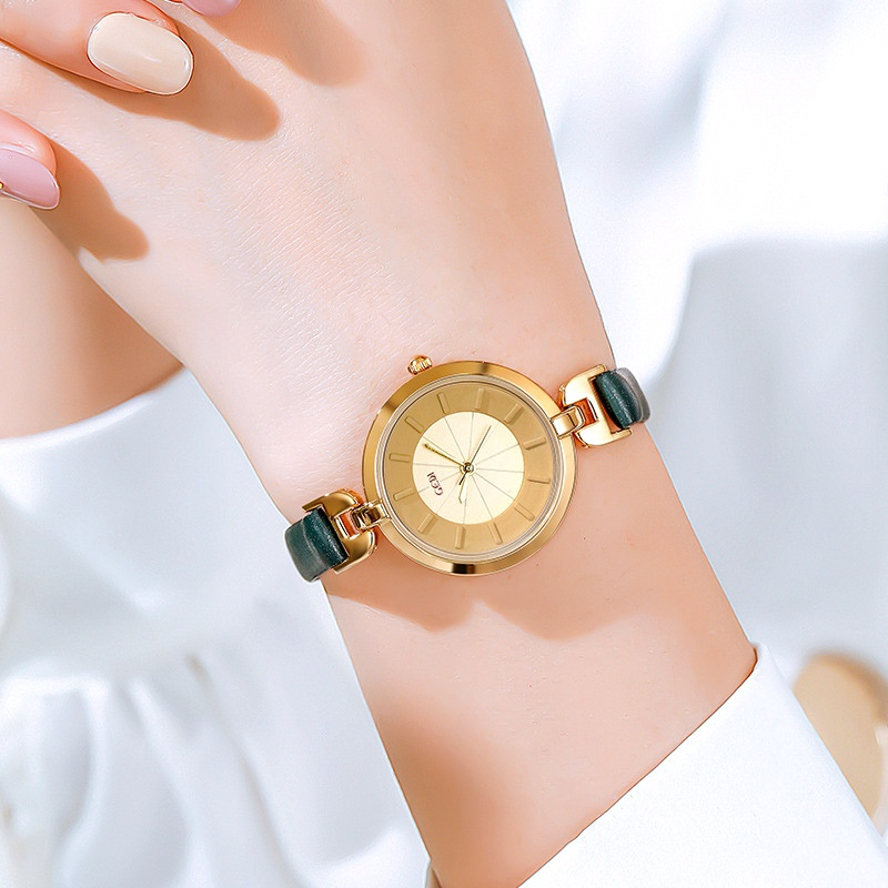 fashion thin strap waterproof watch NHSR285370