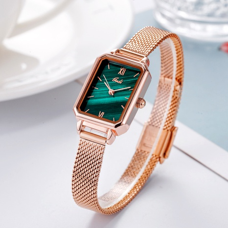 fashion casual retro square watch NHSR285376's discount tags