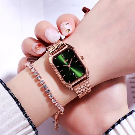 solid steel band fashion waterproof quartz watch NHSR285378's discount tags
