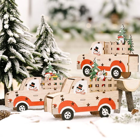Christmas Decoration Wooden Car  NHHB285393's discount tags
