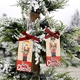 Christmas Decorations Wooden Walnut Soldier Pendant NHHB285405
