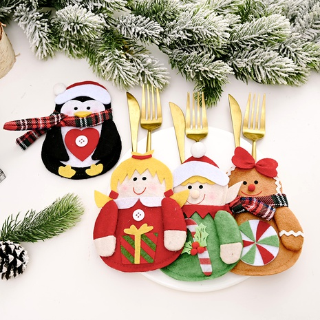 Christmas decorations elf tableware decoration NHHB285408's discount tags