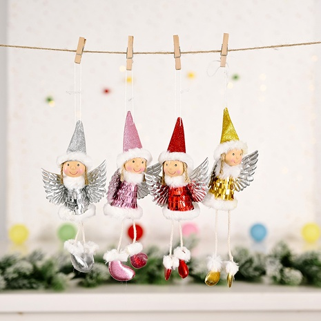 Christmas Ornaments Sequined Wings Pendant  NHHB285433's discount tags