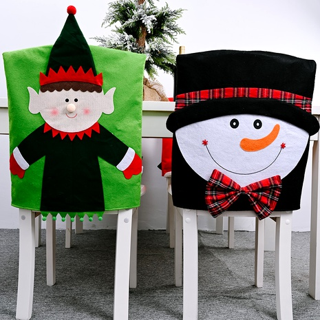 Christmas Decorations Non-woven Fabric Cartoon Chair Cover  NHHB285439's discount tags