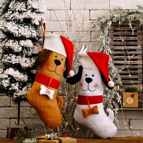 El perro de la decoración de la Navidad calcetines el bolso pendiente del regalo NHHB285443's discount tags