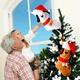Christmas decoration dog socks pendant gift bag  NHHB285443