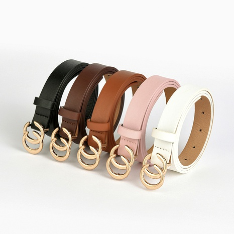 fashion double C casual belt  NHPO285471's discount tags