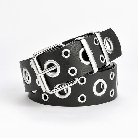cinturón de agujero completo con hebilla de moda punk NHPO285475's discount tags