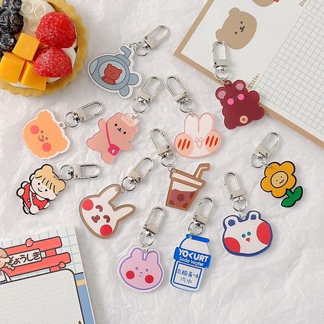 cartoon cute bear keychain  NHZE285549's discount tags