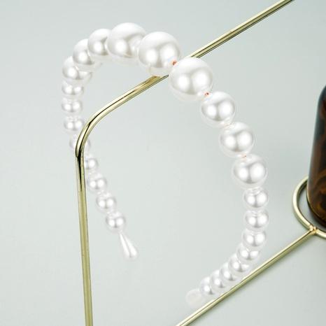 diadema de perlas grandes de moda NHLN285597's discount tags