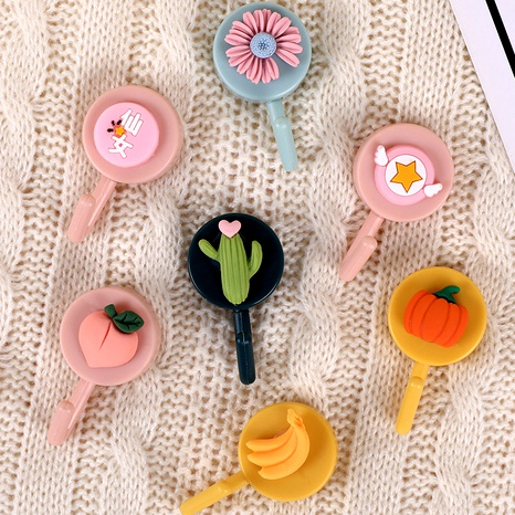 cute strong viscose load-bearing hanging sticky hook NHHE285540's discount tags