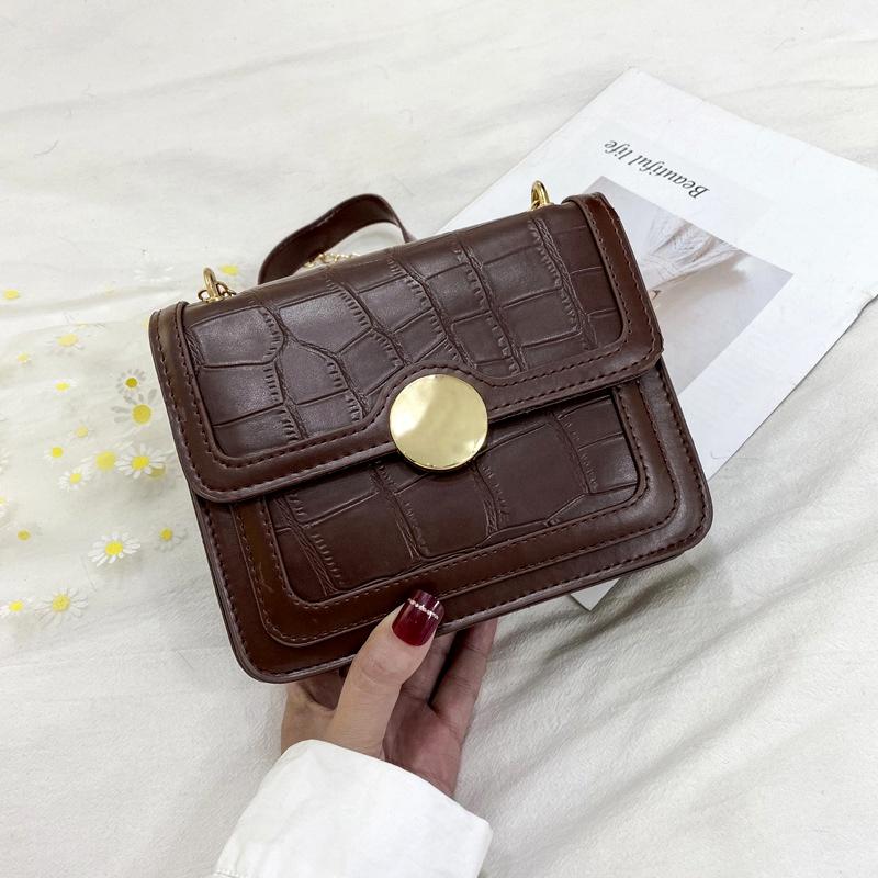 simple large-capacity fashion one-shoulder messenger bag NHRU285739