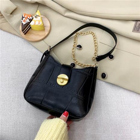 bolso de axila de un solo hombro de moda retro NHRU285745's discount tags