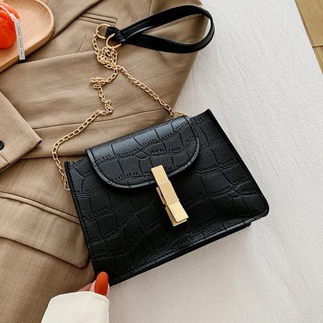 bolso cuadrado pequeño de mensajero de un hombro de moda retro NHRU285747's discount tags