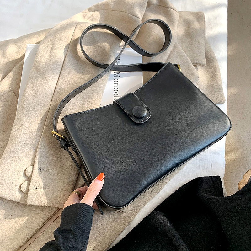 fashion simple large capacity single shoulder bag NHRU285755