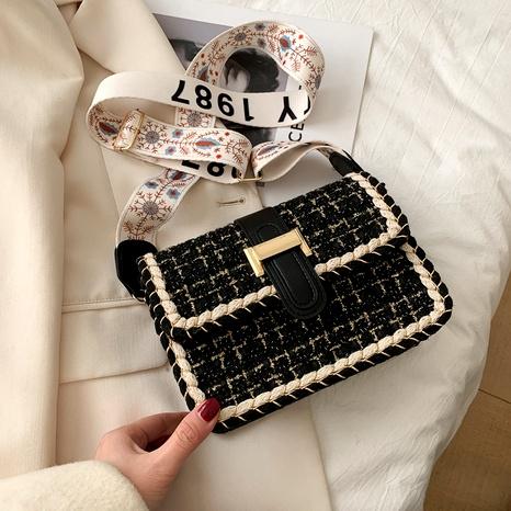 bolso de mensajero de un solo hombro de moda casual NHRU285765's discount tags