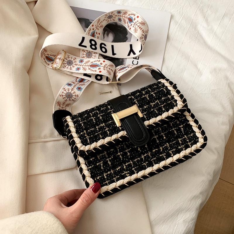casual fashion one-shoulder messenger bag  NHRU285765