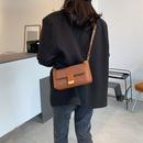 frosted brown oneshoulder underarm bag  NHJZ285794