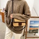 fashion messenger small square bag  NHJZ285799