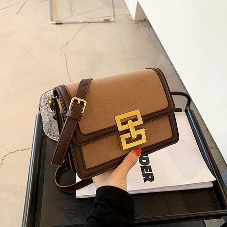 Bolso pequeño cuadrado con un solo hombro esmerilado NHJZ285809's discount tags