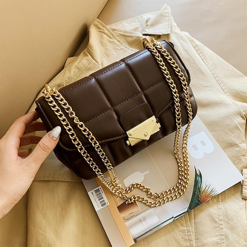 retro one-shoulder messenger bag  NHJZ285832