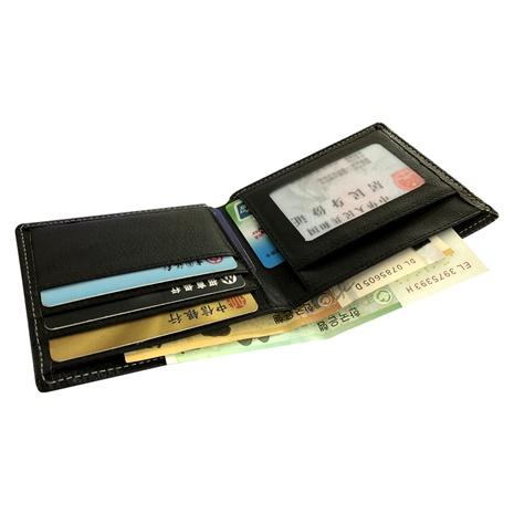 Cartera de cuero de PU para múltiples tarjetas NHBN285916's discount tags