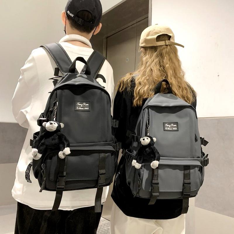 retro large capacity backpack  NHHX285939