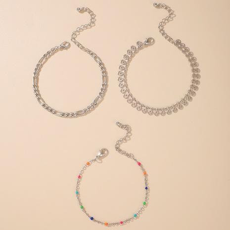 fashion women bohemian colorful bead bracelet set NHGY286390's discount tags