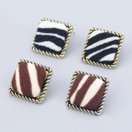 alloy cloth fashion retro earrings  NHJE286081's discount tags