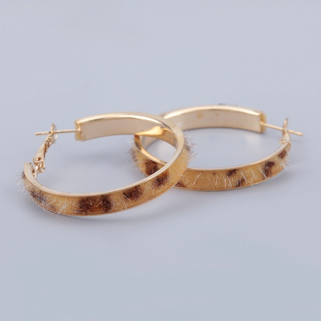 round alloy flannel earrings  NHJE286073's discount tags