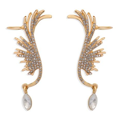 angel wings full diamond earrings  NHJQ286115's discount tags