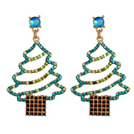 Weihnachtsmode-Cartoon-Diamantohrringe NHJJ286118's discount tags