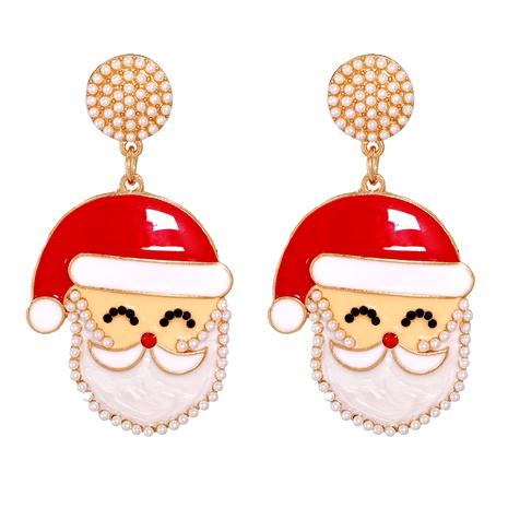 Christmas Fashion Elk Snowman Santa Earrings  NHJJ286119's discount tags