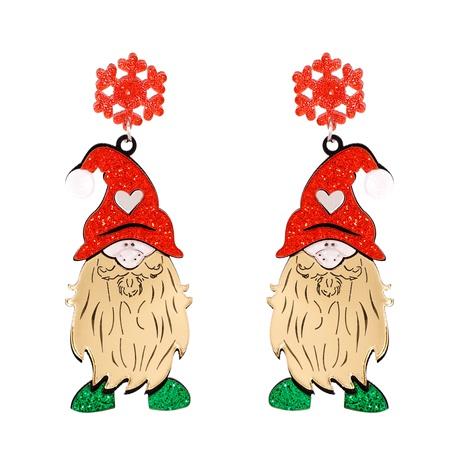 Christmas Fashion Elk Snowman Santa Earrings  NHJJ286121's discount tags