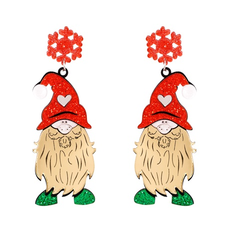 Weihnachtsmode Elch Schneemann Santa Ohrringe NHJJ286121's discount tags