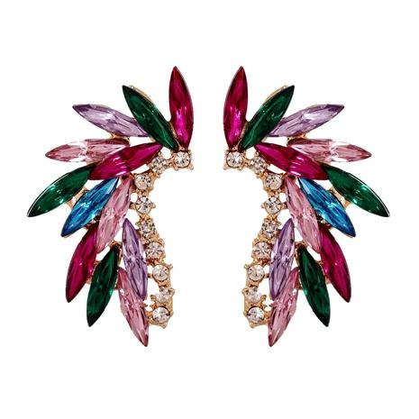 fashion angel wings glass crystal earrings NHJJ286122's discount tags